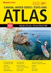 Canada USA Road Atlas 2019 -  1122