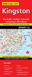 Kingston Cornwall Brockville Street Map - 1131