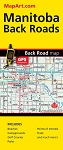 Manitoba BackRoad Map - 1172