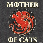 MAGNET - MOTHER OF CATS - 588 - 14