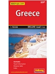 Greece Deluxe road Map HALLWAG - 20913 - $9.95