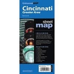 Greater Cincinnati Ohio Street Map - 5739