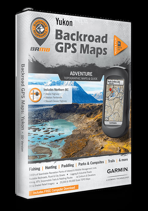 Garmin Alaska Map Download.Yukon Gps Map 60239