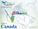 SIGHTS OF CANADA: ALBERTA - 585 - ALBERTA COLOURING BOOK