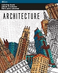COLORING BOOK ARCHITECTURE - 695 - 70108