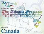 SIGHTS OF CANADA ATLANTIC PROVINCES COLOURING BOOK - 585