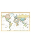 World Wall Map Paper Rand - 93476 OUT OF STOCK