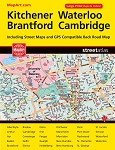 Kitchener Waterloo, Guelph 2017 MapArt Large Print Street Atlas - 10286