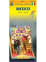 Mexico International Travel Map - 13288 - $13.95