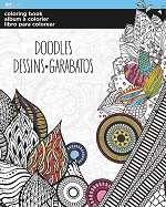 COLORING BOOK DOODLES - 695 - 70102