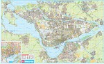 Montreal Paper Wall Map - 20591
