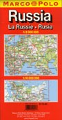 Russia CIS Map - Marco Polo - ITEM 40001 - $12.95