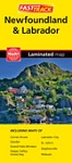 Newfoundland Fast Track Laminated Map  - 1109