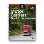 Motor Carriers Deluxe Lam Road Atlas 2019 - 1989