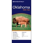 Oklahoma State Map - 86909