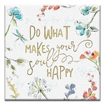 GREETING CARD - DO WHAT MAKES YOUR SOUL THUMBTACK  - 38983