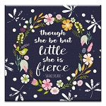 GREETING CARD - SHE IS FIERCE THUMBTACK - 31721