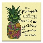 GREETING CARD - BE A PINEAPPLE THUMBTACK   - 38985