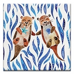 GREETING CARD - OTTER JOY THUMBTACK  -  39156