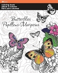 COLORING BOOK BUTTERFLIES - 695 - 70112