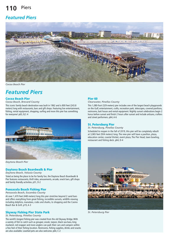 FLORIDA MAPS & ATTRACTIONS TRAVEL GUIDE - 20585