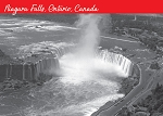 POST CARD -  NIAGARA FALLS ONTARIO CANADA  YEAR 1966 - 586 - 00600
