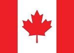 POST CARD - CANADA FLAG - 586 - 00607