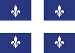 POST CARD - QUEBEC FLAG - 586 - 00630