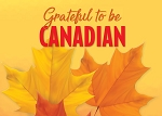 POST CARD - GRATEFUL TO BE CANADIAN - 586 - 00576