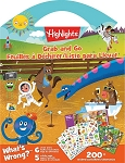 HIGHLIGHTS  Grab & Go Activity Book - 595 -67121 - ST9148