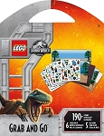 LEGO JURASSIC WORLD Grab & Go Activity Book - 595 -77083 - ST9151