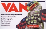 Vancouver Pop Up Map - 95250  Vandam