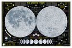 THE MOON WALL MAP 42.5 X 28.5  49.99  - 20762