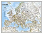 EUROPE CLASSIC WALL MAP 30.5 X 23.75  34.99  - 20763