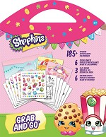Shopkins Grab & Go Travel Activity Book - 595 - 51489