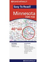 Minnesota Map RAND - 87590
