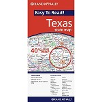 Texas Easy to Read Map - 88207  OUT OF STOCK