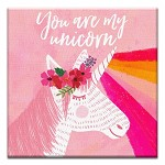 GREETING CARD - YOU ARE MY UNICORN THUMBTACK  - 31701