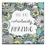 GREETING CARD - RIDICULOUSLY AMAZING THUMBTACK - 31706