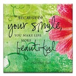 GREETING CARD - YOUR SMILE THUMBTACK  -  39178