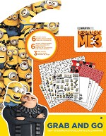 DESPICABLE ME 3 Grab & Go Travel Activity Book - 595 - 5271