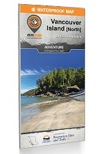 Vancouver Island North BC Backroad Waterproof Adventure Map -  60248