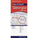 Georgia Easy-to-Read Map RAND - 86859