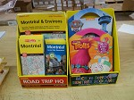 Cardboard Counter Display for maps and Sticker Books