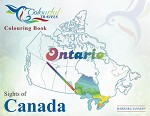 SIGHTS OF CANADA ONTARIO COLOURING BOOK - 585