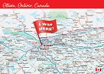 POST CARD - OTTAWA I WAS HERE - 586 - 00603