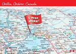 POST CARD - ORILLIA I WAS HERE - 586 - 00604