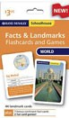 Schoolhouse World Facts & Landmarks Flashcards and Games RAND - 93468