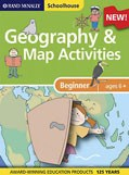Schoolhouse Beginners Geography and Map Activities Workbook RAND - 93469