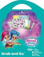 SHIMMER & SHINE GRAB & GO  BOOK - 595 - ST9150 - 76284